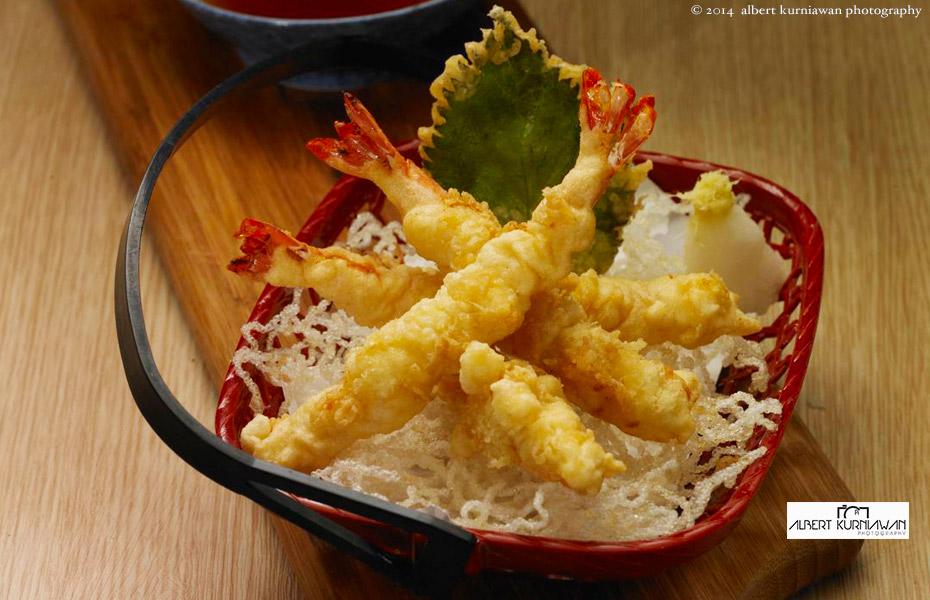 Yuki-ebi-tempura