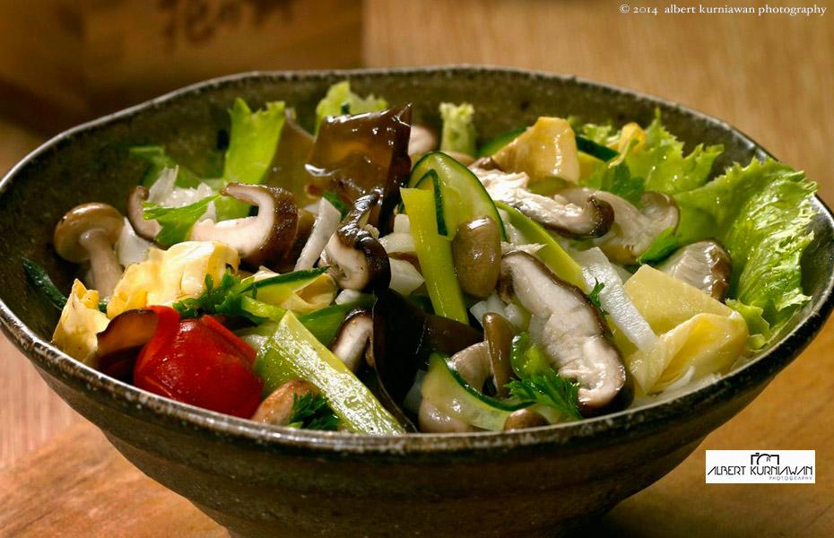 Yuki-kinoko-salad