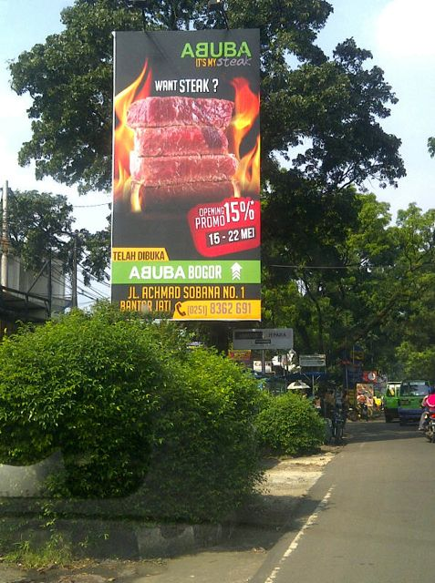 abuba billboard