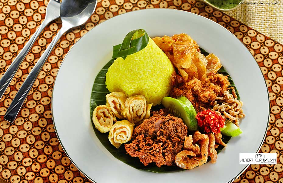 nasi kuning, AKP for Tong Tji T-House