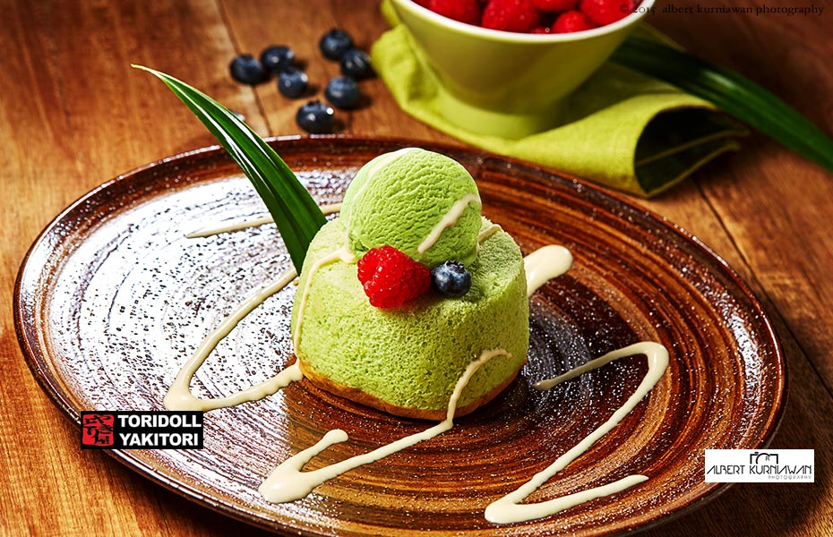 toridoll-yakitori-pandan-shifone-cake