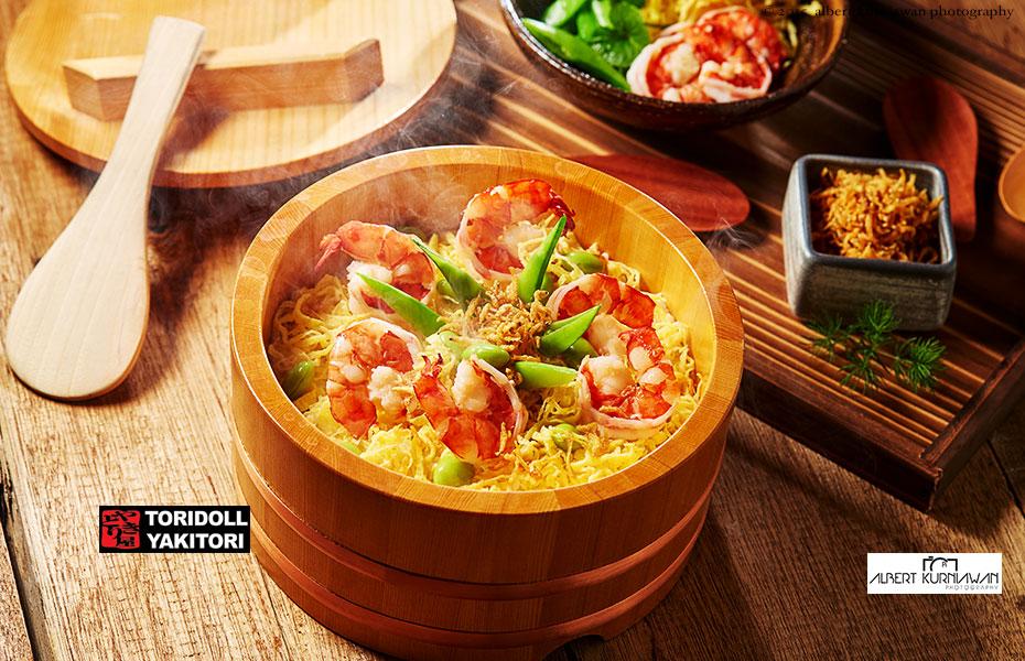 toridoll-yakitori-shirmp-rice