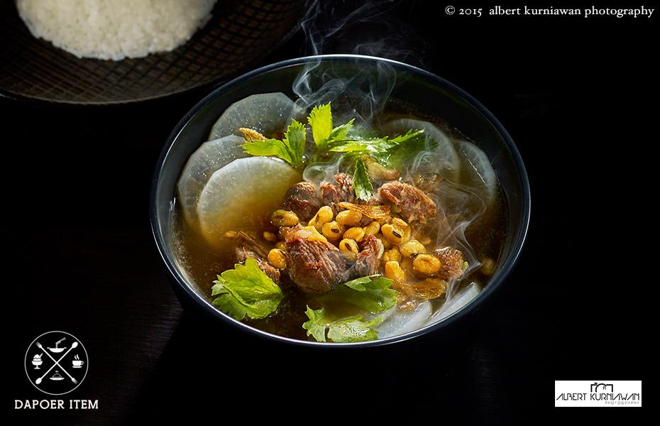 dapoer item, Bogor black culinary