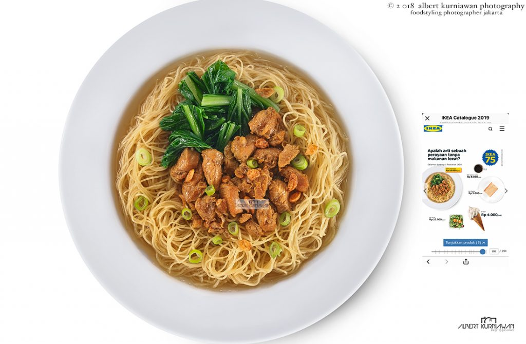 Food Photography Jakarta for IKEA ALAM SUTRA