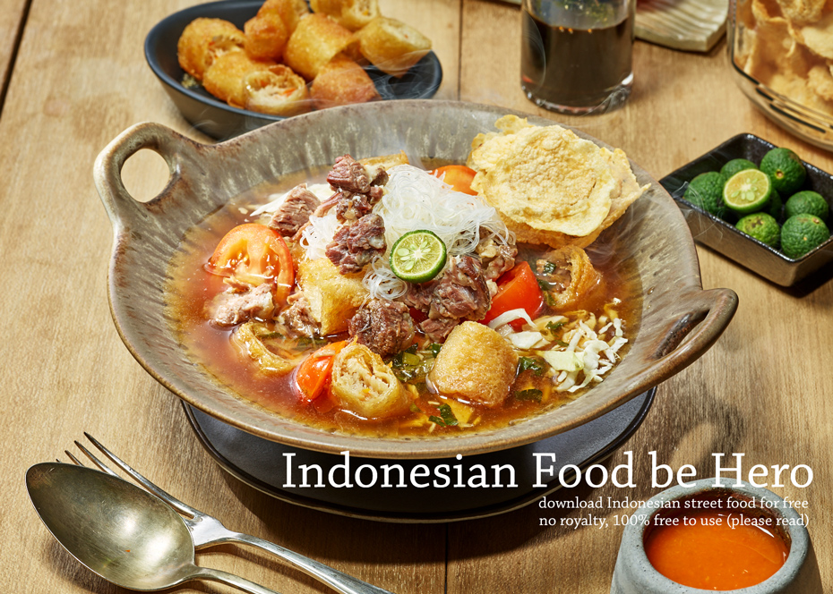 Indonesian food be hero