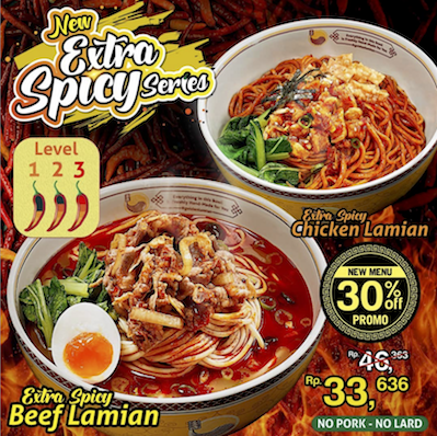 golden lamian spicy series